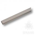 Штанга овальная, матовый хром (2 метра), 01471