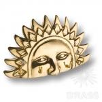 "Вешалка ""Солнце"" на 4 крючка, латунь, 2.243"