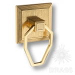 2250 Gold Ручка кольцо современная классика, глянцевое золото 32 мм