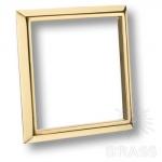 Накладка декоративная современная классика, глянцевое золото 96 мм, 2081 Gold