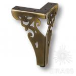 Опора мебельная резная, античная бронза, KAX-4626-0150-A08