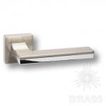 HA100RO11 NB-CR\NB LARISSA Ручка дверная, никель/глянцевый хром