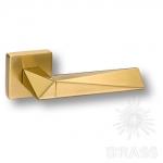 HA111RO11 GLB-GL\GLB AGATE Ручка дверная, матовое золото/глянцевое золото