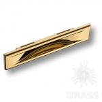 Ручка врезная современная классика, глянцевое золото 96 мм, 4340 0096 GL