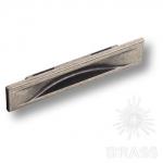 Ручка врезная современная классика, старое серебро 96 мм, 4340 0096 OSM