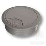25.20.061-0 Заглушка кабель-канала, материал пластик, цвет серый