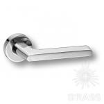 Ручка дверная, глянцевый хром, HA101RO12 CR TAVIRA