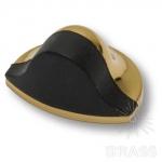 Стопор для двери, глянцевое золото 45 мм, DS1000 0045 GL-P6