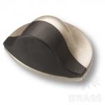Стопор для двери, матовое серебро 45 мм, DS1000 0045 SLM-P6