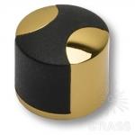 Стопор для двери, глянцевое золото 35 мм, DS1005 0035 GL-P6