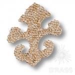Swarovski elements Декоративная накладка Valentina, цвет золотой, 702810-001GSHA Swarovski elements