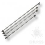 Ручка рейлинг современная классика, серебро 224 мм, 47104-63