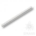 Ручка скоба модерн, анодированное серебро 128 мм, PI300-65