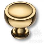 1915 0038 GL Ручка кнопка современная классика, глянцевое золото