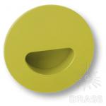 Ручка врезная детская коллекция, цвет зеленый, 730VE