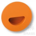 Ручка врезная детская коллекция, цвет оранжевый, 730NA