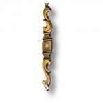Накладка декоративная классика, цвет античная бронза, 6453.0144.001