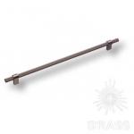 Ручка рейлинг модерн, чёрный матовый никель 320 мм, 8774 0320 BBN-BBN