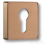 Накладка с цилиндрическим отверстием для ключа, матовое розовое золото, RO11Y RSB ROSET