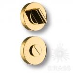 Накладка с поворотной кнопкой, глянцевое золото, RO12W6 GL ROSET