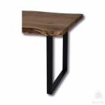 Опора мебельная, чёрный, KMA-0227-0710-B13