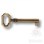 """Ключ """"G"""" мебельный, старая бронза, 01745"""