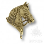 "Вешалка ""Лошадь"" SX, латунь, 00095/A"