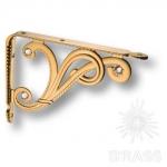Полкодержатель ( 2шт.) цвет - античное золото, 100 мм, VANITOSA -B SWA ORO/ANT
