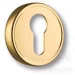 Накладка с цилиндрическим отверстием для ключа, глянцевое золото, RO14Y GL ROSET