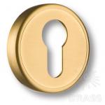 Накладка с цилиндрическим отверстием для ключа, матовое золото, RO14Y GLB ROSET