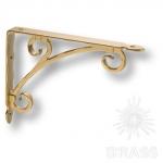 Полкодержатель ( 1 шт.) , цвет - античное золото, 195 мм, LUXOR-B PAINT GOLD