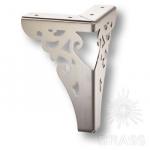 KAX-4626-0150-A04 Опора мебельная резная, цвет - никель
