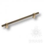 Ручка скоба современная классика, бронза 192 мм, 8774 0192 ABM-ABM